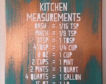 Kitchen Measurements - Original Screen Print