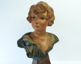 French Antique Bust....Home Decoration.