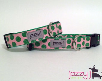 The Lilly Glitter Dog Collar