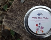 Wild-crafted poison ivy salve - Itchy Skin Salve 1oz