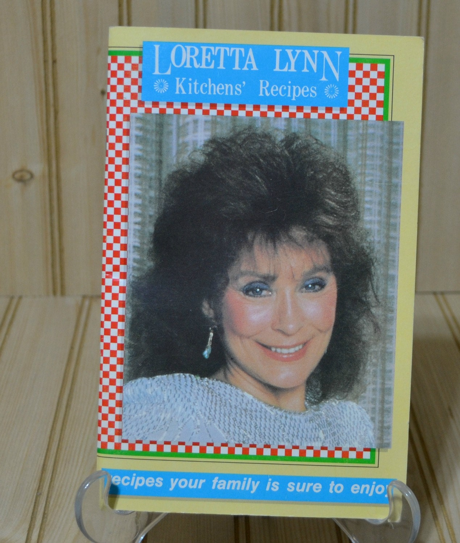 Vintage Loretta Lynn Kitchen Recipes Cookbook 1986 Country