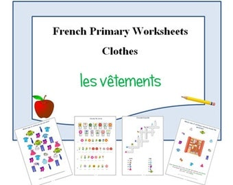 FRENCH PRINTABLES / Worksheets for Teacher / Animal Vocabulary