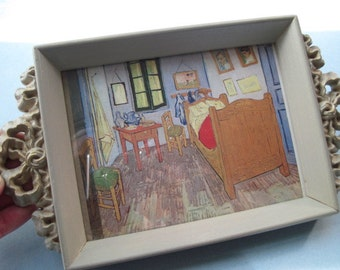 Vintage Cottage Chic Frame Tray
