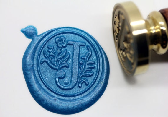 letter wax seal s1152 alphabet letter j wax seal stamp sealing 23296