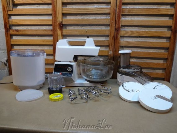 Attachments For Oster Regency Kitchen ~ White oster regency kitchen center speeds by