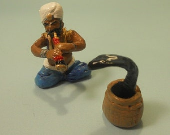 Snake Charmer with Cobra Streets of Calcutta 54mm cast metal toy soldier