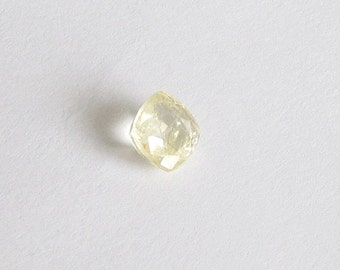 Natural Yellow Sapphire, Unheated, Cushion Cut, 1.60 carat