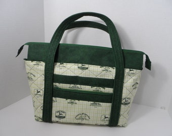 Quilted Purse - Quilted Tote - Market Bag - Shopping Bag - Quilted Diaper Bag - Shoulder Bag - NFL Tote - NHL Tote