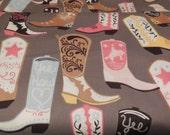 1 Yard of Maude Asbury *LUCKIE* by Blend Fabrics - Boots