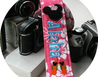 Aloha Minnie DSLR SLR Camera Strap