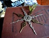 Steampunk Ornament, Clock Hand Ornament, Christmas Ornament, Gift Tags, Steampunk Gift Tags, Steampunk Christmas, Gear Ornament, Wedding