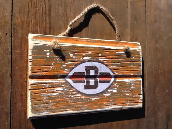Cleveland Browns Reclaimed Wood Sign Vintage Cleveland Browns Sign Rustic  Cleveland Browns Decor - Cleveland Browns Reclaimed Wood Sign Vintage Cleveland Browns