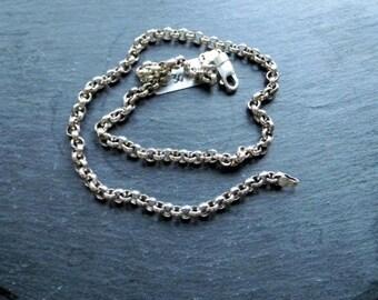 Silver chain, chain, chain silver, Sterling Silver