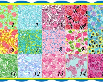 SORORITY Lilly Inspired craft vinyl-  *Top Quality Pixels and Print Size*