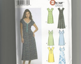 Simplicity pattern 5049 Misses Dress size 14 16 18 20 22
