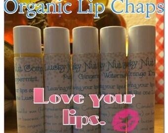 Organic Lip Chaps - 2 Pack