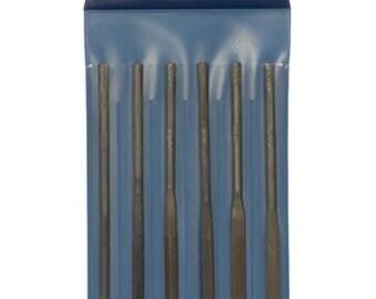 Handy NEEDLE FILES 6 Piece Needle File Set CUT 2, 5-1/2