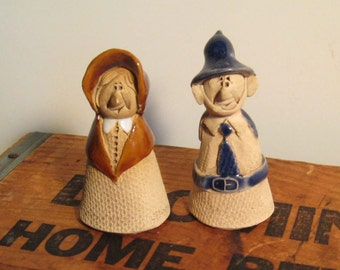 Vintage Welsh Handmade Figurines