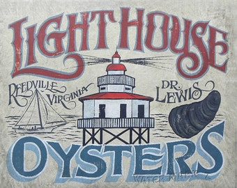 Lighthouse Oysters   Print