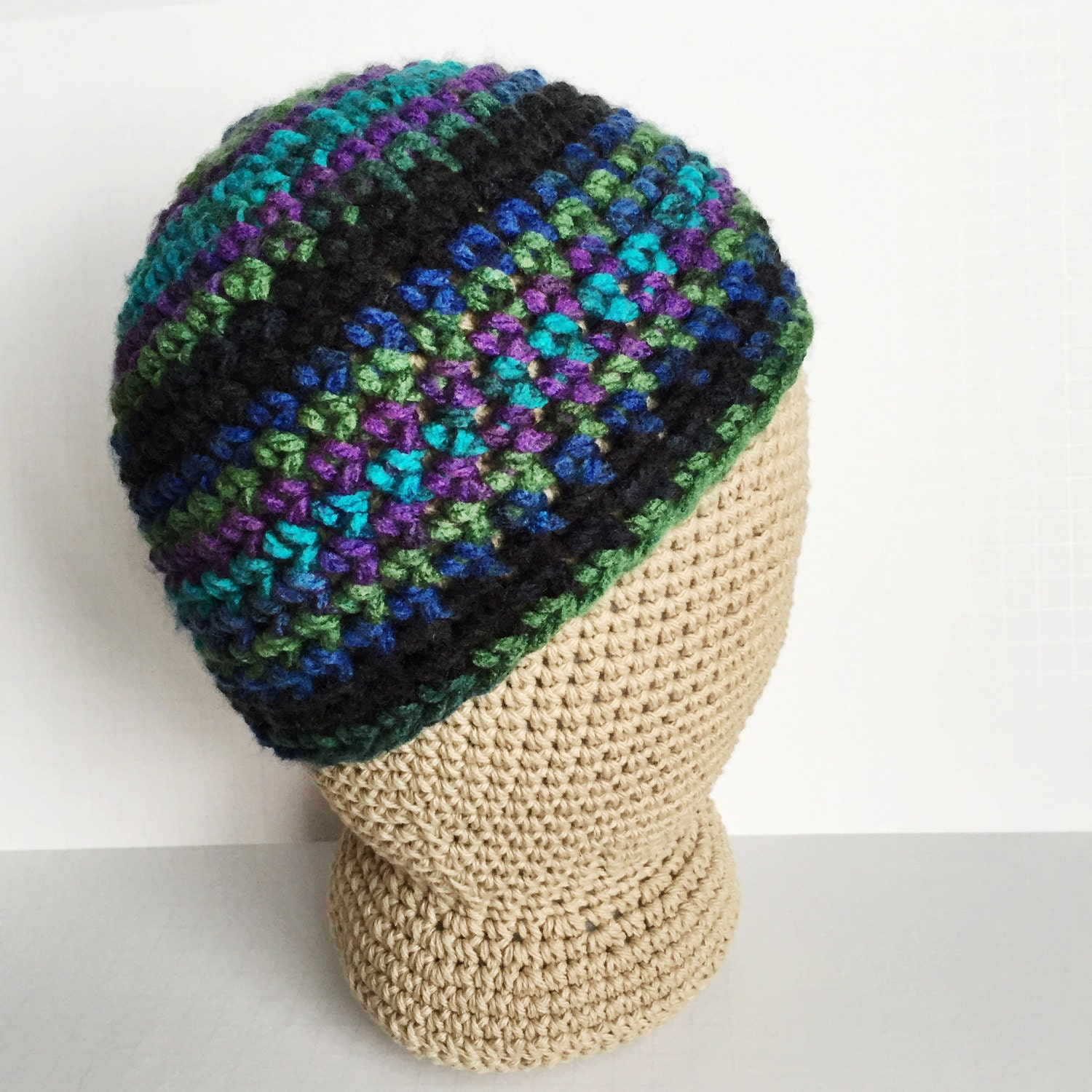One hour northern lights beanie crochet pattern womens crochet this is a digital file bankloansurffo Image collections
