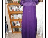 Von Bramlett Formal Dress - Delicious Eggplant Von Bramlett LA NY Long   Plus Size 26 Evening Wear  CLO-011a-092913000