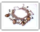 Wedding Cake & Shell Bracelet Unique  Brac-1115a-040510000