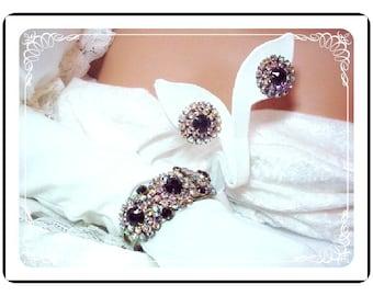 Juliana Clamper Demi - Fabulous Prong Set Rhinestone D&E   Demi-624a-090108075