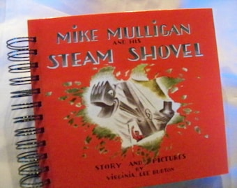 Mike Mulligan and His Steam Shovel blank book diary journal