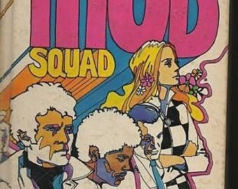 Vintage 1969 The Mod Squad Assignment The Arranger TV Authorized Hardback Book Richard deming