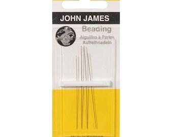 JOHN JAMES English Beading Fine Needles #10/13 BB