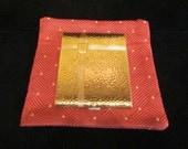 Vintage 1910s Cigarette Case Evans Hammered Gold Tone Cigarette Case Business Card Case Edwardian Unused Near Mint Condition VERY RARE