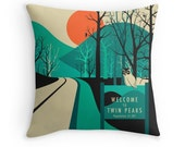 TWIN PEAKS Throw Pillow for the Home Decor