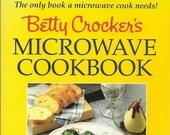 Betty Crocker's Microwave Cookbook, Vintage Cookbook, Microwave Cooking