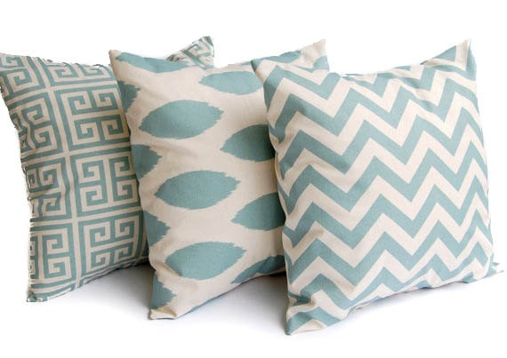 Decorative Pillow Covers 22 X 22 : Throw pillow covers set of three 22 x 22 inches by ThePillowPeople