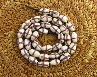 "Antique ""French Cross"" Venetian Beads"