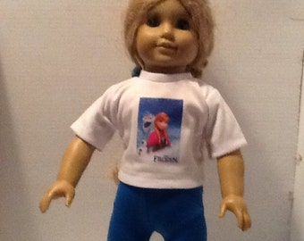Anna Outfit For American Girl Doll
