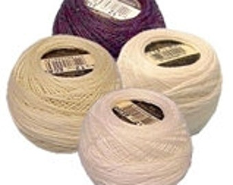 DMC Pearl Cotton - Size 12 - Any of the 22 Colors