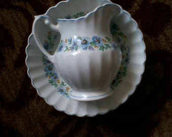 J & G Meakin Bowl and Pitcher