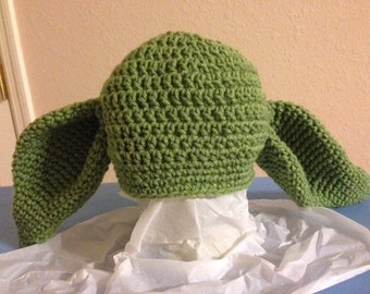 Yoda Crochet Child's Hat