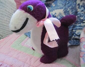 Sweet Purple Stuffed Plush  Dinosaur Sweet