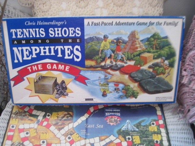 tennis shoes among the nephites the gamereligious