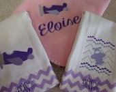 Pink and Purple Airplane Set