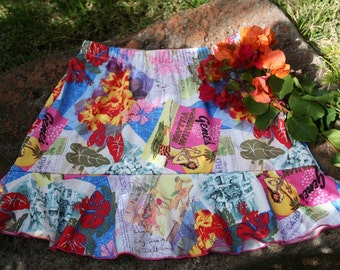 "Hawaiian Running Skirt ""ALOHA"""