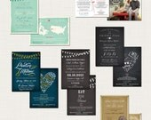 SAMPLE PACK - Wedding Invitations from A la Carte Paperie