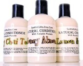 Natural Hair Conditioner - Honey Almond - Vegan Hair Conditioner with Keratin Protein - Sleek and Shine - 8oz