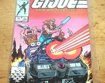 Vintage Comic Book, G.I. Joe A Real American Hero, No. 51, Antique Alchemy