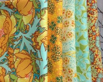Victoria and Albert - Vintage Florals - Fat Quarter Bundle of 5 #22
