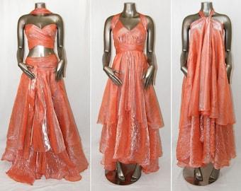 Coral Convertible Dress/Skirt