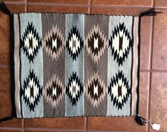 Authentic Handmade Navajo Rug from Chinle Area of the Navajo Reservation