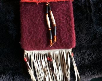 Circa 1940 Native American Medicine Pouch